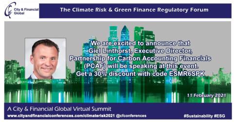 The Climate Risk & Green Finance Regulatory Forum