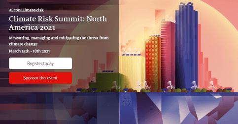 The Economist Climate Risk Summit: North America 2021