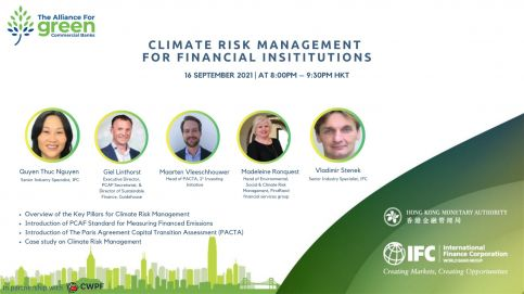 Climate Risk Management for Financial Institutions