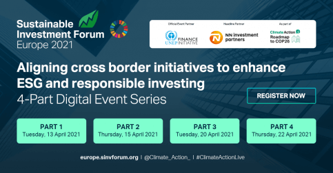 Sustainable Investment Forum Europe 2021