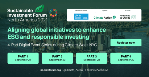 Sustainable Investment Forum North America 2021