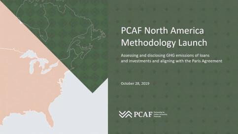 PCAF North America Launch Webinar