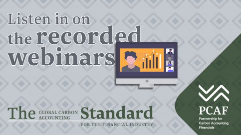 Public Consultation on the draft Global Carbon Accounting Standard for the Financial Industry