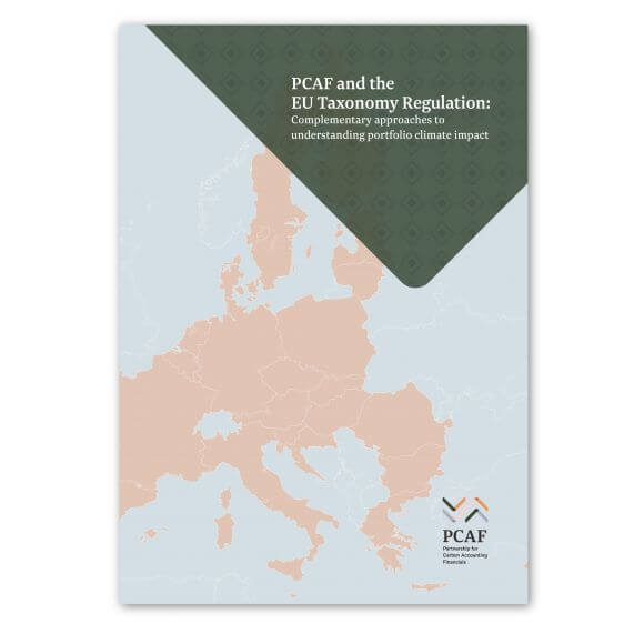 Report shows the benefits of using the PCAF Standard in concert with the EU Taxonomy Regulation